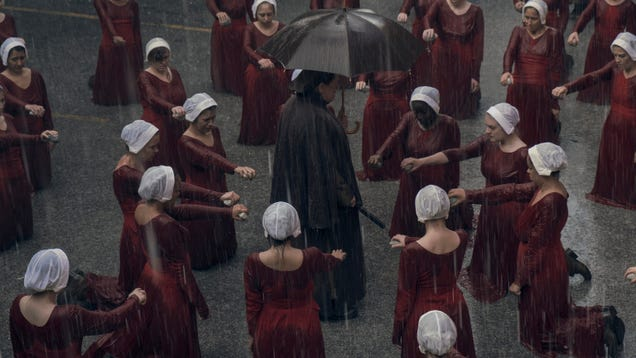Welcome back to the dystopian nightmare ofThe Handmaid's Tale