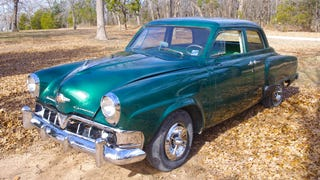 Here's What It's Like To Drive A Nutty Vintage Studebaker