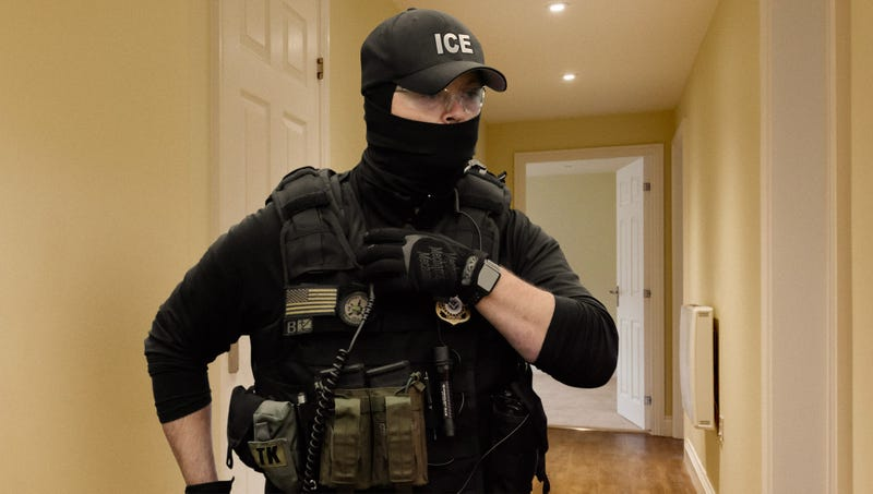 Illustration for article titled ICE Agent Terrified After Becoming Separated From Team During Immigrant Raid