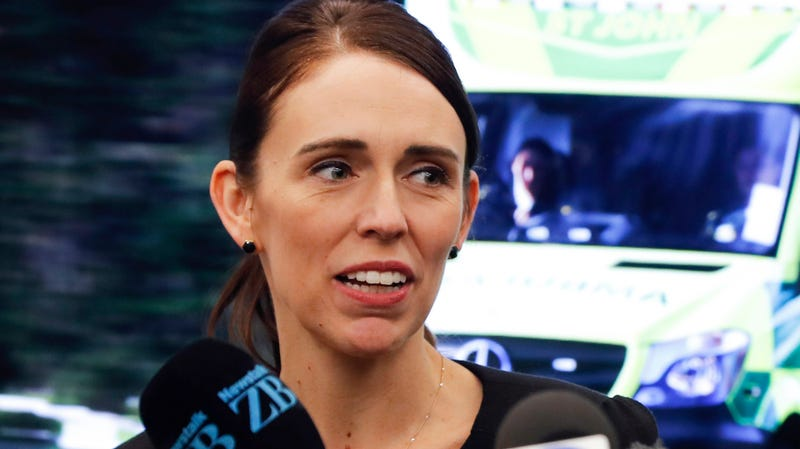 New Zealand's Prime Minister Jacinda Ardern on March 15, 2019.