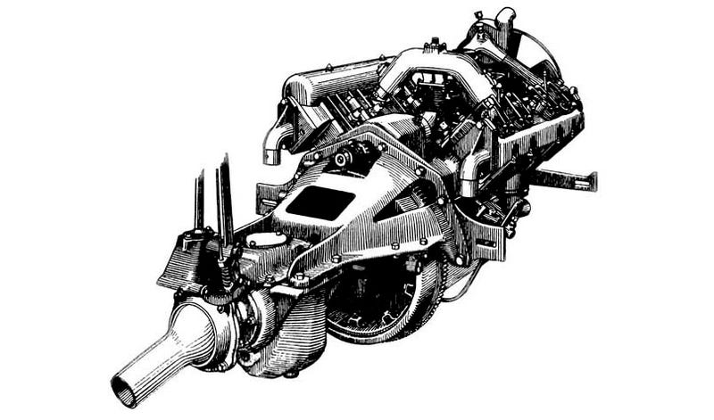 Illustration for article titled Engine Of The Day: The Very First Chevrolet V8