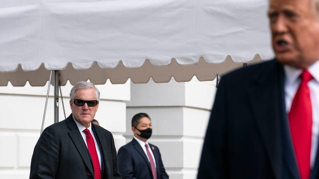 Trump Lackeys Asked DOJ to Investigate Random Italian Guy s Claim Biden Stole Election With Satellites
