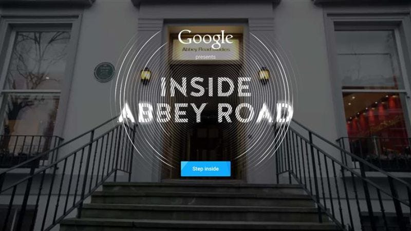 Illustration for article titled Interactive website offers digital tour of Abbey Road Studios