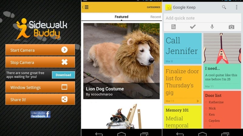 Google Keep Instructables Sidewalk Buddy And More