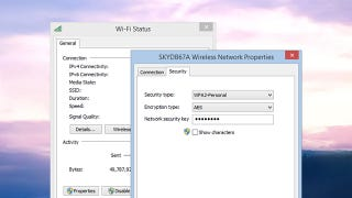 Illustration for article titled Find Your Wifi Password in Windows 8.1