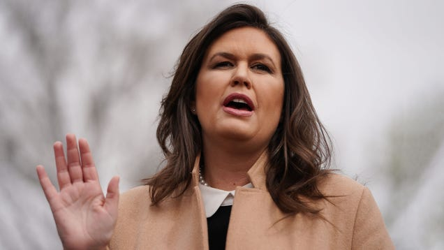 Sarah Huckabee Sanders Vows To Protect Good People Arkansas From Any Questions