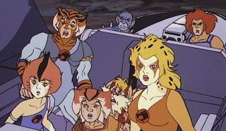 Illustration for article titled ​12 Insane Things You Totally Forgot About the ThunderCats