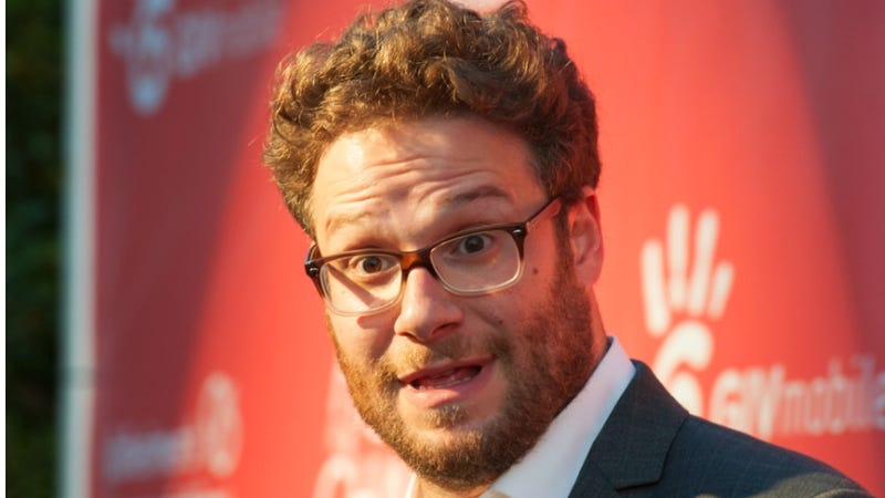 Illustration for article titled Today, Seth Rogen Suffered a Whimsical Injury