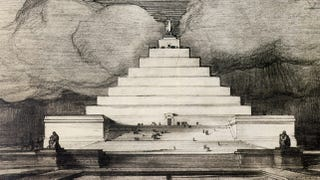 Illustration for article titled In an alternate reality, this pyramid is the Lincoln Memorial