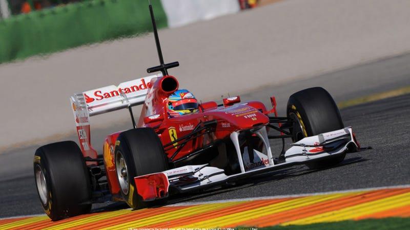 Illustration for article titled Ferrari loses to Ford again, renames F1 car F150th Italia