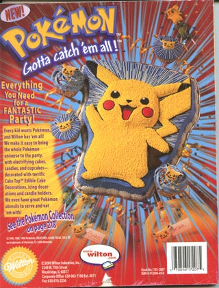 Illustration for article titled Collecting Retro Games Special: Pokemon Baking Supplies