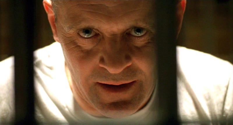 Anthony Hopskin como Hannibal Lecter. Imagen: Schmoesknow