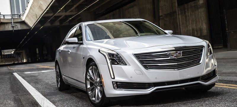 Illustration for article titled There Won't Be A Cadillac CT6-V But It Will Get A Twin-Turbo V8 Anyway