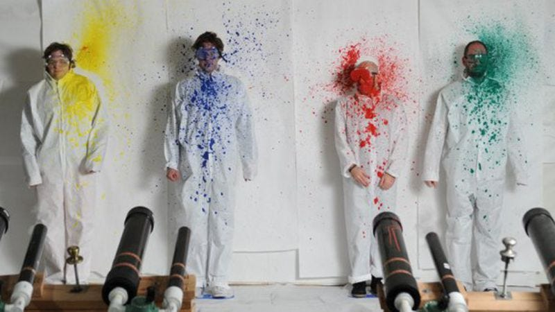 Illustration for article titled The art of making something cool: OK Go's favorite music videos