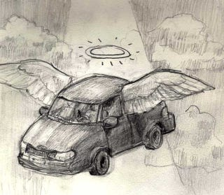 Illustration for article titled Merry Christmas, My Car Broke down