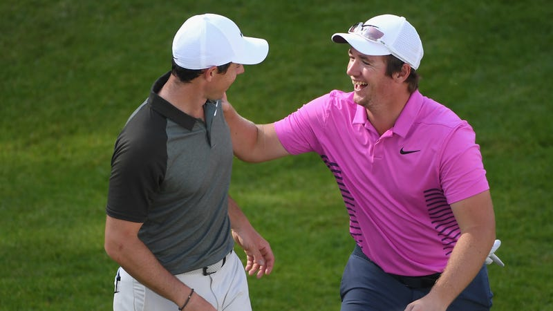 McIlroy and Horsfield clearly have it in for the poor man.