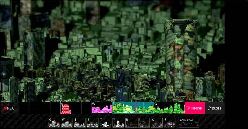 Illustration for article titled Crea un mapa musical de Tokio en 3D con esta genial web interactiva