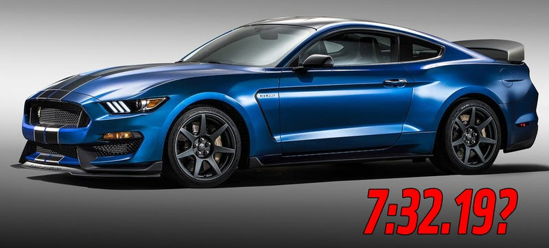 Illustration for article titled Did The Ford Shelby GT350R Really Just Destroy The Z/28's 'Ring Time?