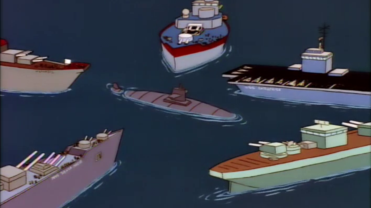 The Great Simpson Tide May Be The Most 90s Episode Of The Simpsons