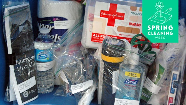 Consolidate Your Home Emergency Kit Now