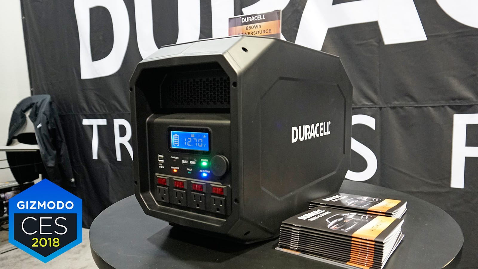 You Will Probably Die Before This Monstrous New Backup Battery From Duracell Does