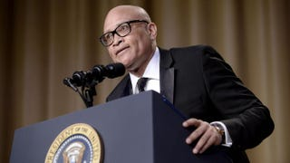 Comedian Larry Wilmore speaks during the White House Correspondents' Association dinner at the Washington Hilton hotel in Washington, D.C., on April 30, 2016.Olivier Douliery-Pool/Getty Images