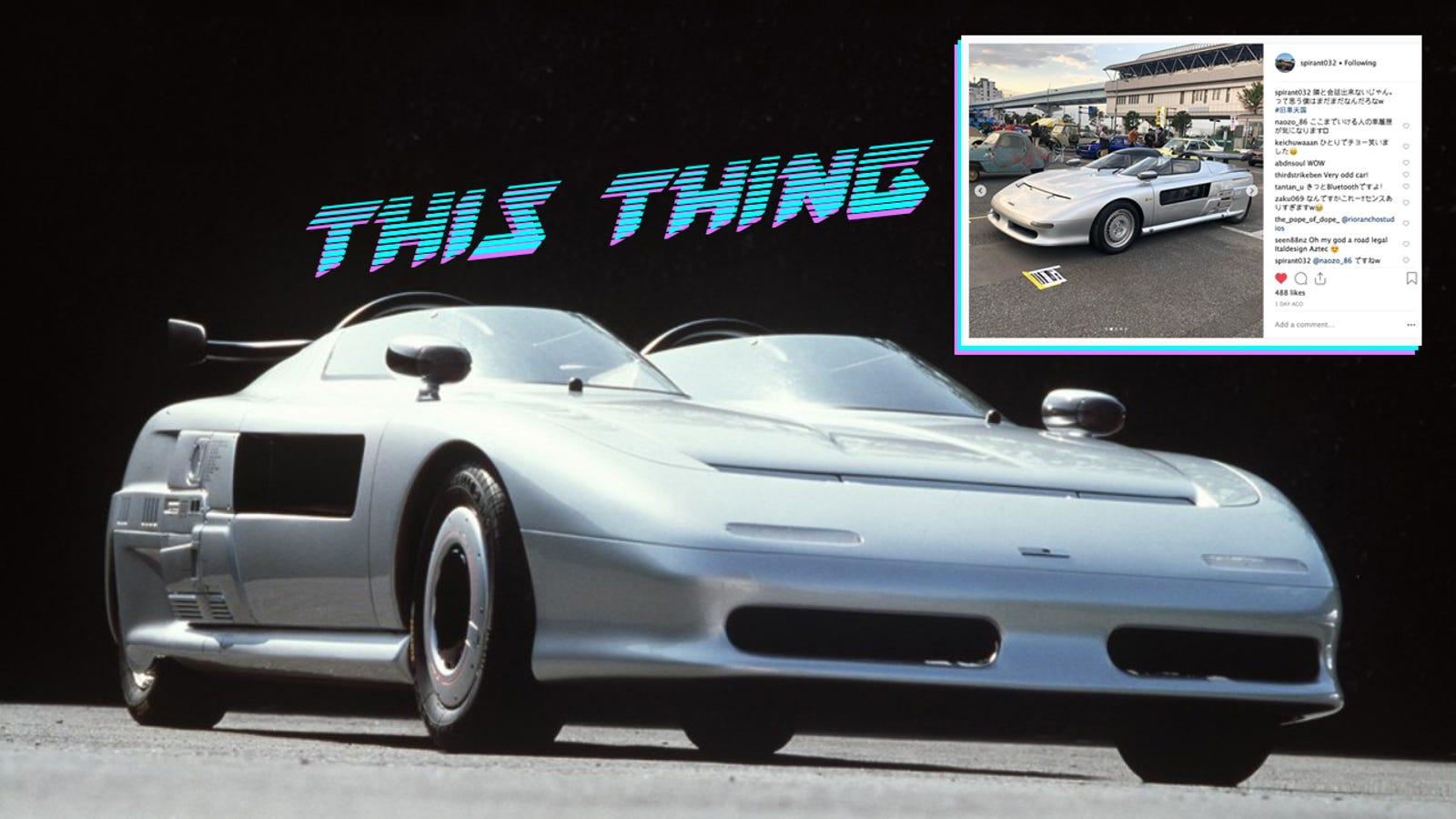 How To Win A Car >> How To Win A Car Show Roll Up In A Road Legal Concept Car