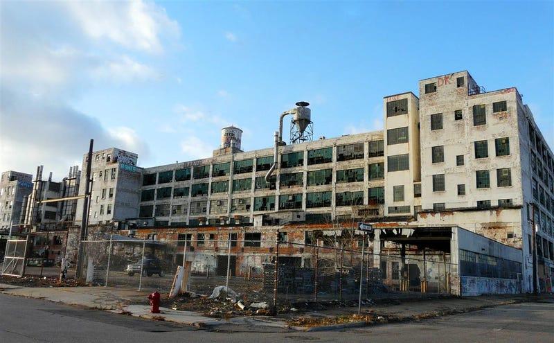 the ruins of detroit industry five former factories. Black Bedroom Furniture Sets. Home Design Ideas