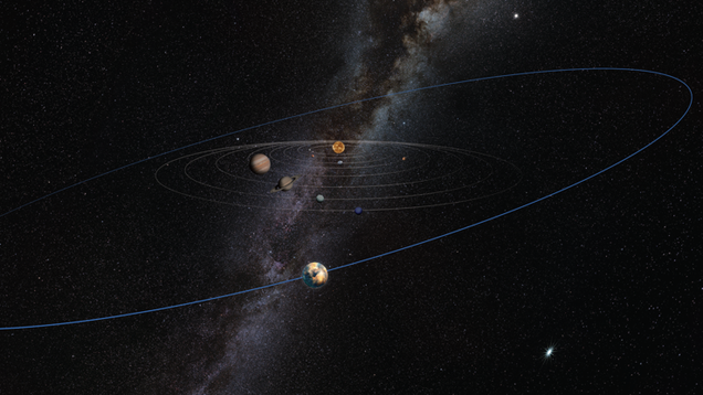 A Mysterious Mars-Sized Object Could Be Hiding at the Edge of Our Solar System