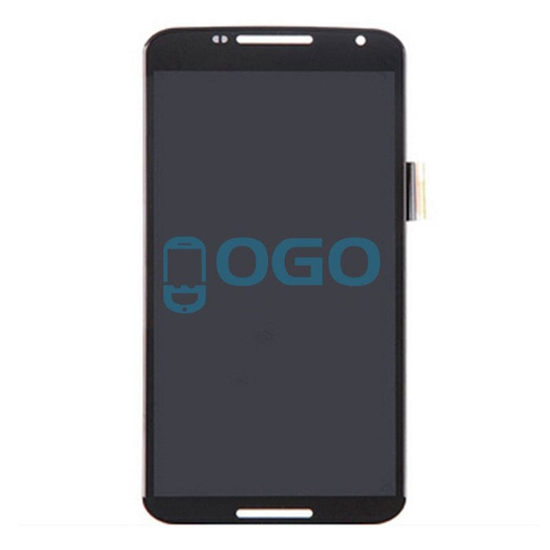 Illustration for article titled LCD & Digitizer Touch Screen Assembly Replacement for Motorola Google Nexus 6 - Black