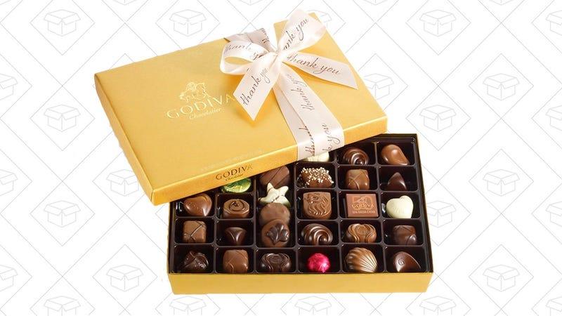 Godiva Chocolatier Gold Ballotin Candy | $21 | Amazon