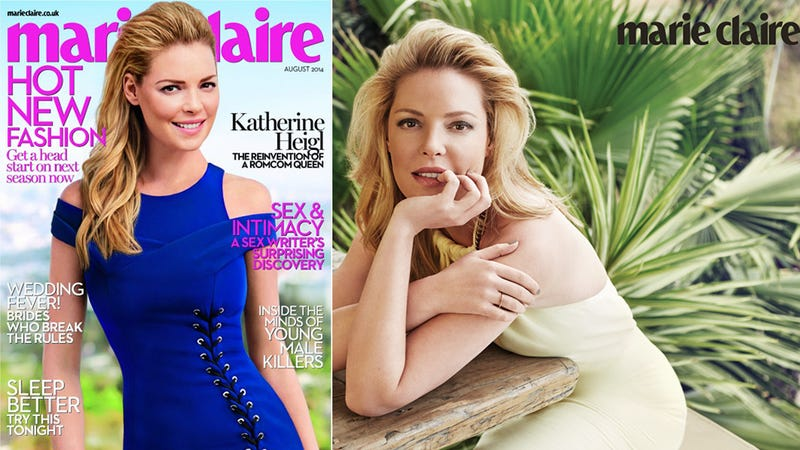 Illustration for article titled Katherine Heigl Thinks She Knows Exactly Why You Got Sick of Her