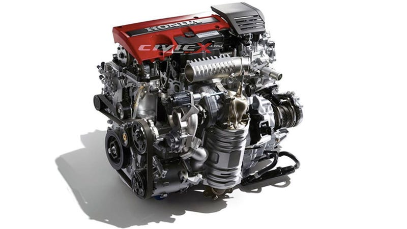 what can you tell about the 2017 honda civic type r engine by looking at it. Black Bedroom Furniture Sets. Home Design Ideas