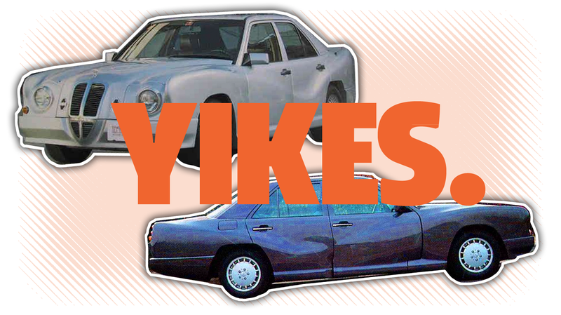 Illustration for article titled Behold, A Car So Ugly It Looks Like It's Already Been Wrecked
