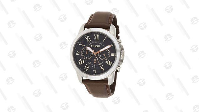 Fossil s Chic Grant Watch Is 67% off in Amazon s Big Style Sale
