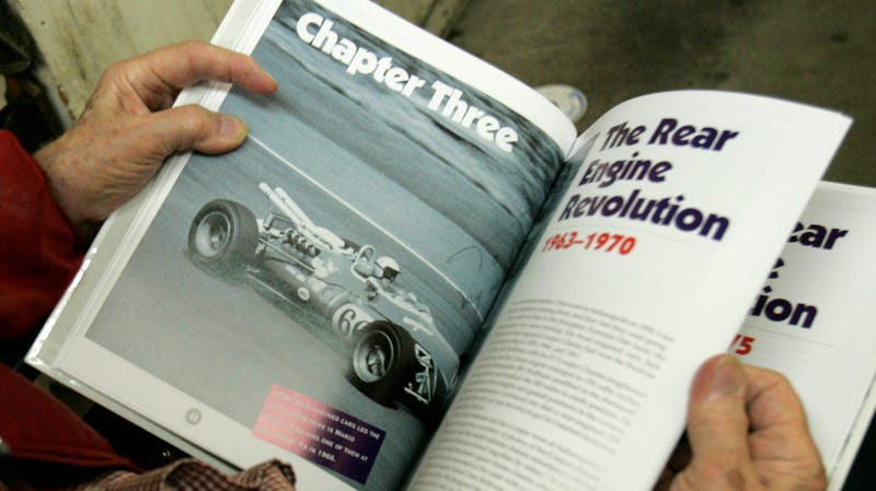 Illustration for article titled Speed Readers Unite: The Jalopnik Race Car Book Club Starts Today