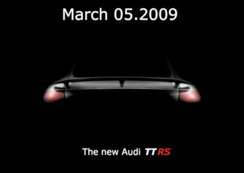 Illustration for article titled Audi TT RS Heading To Geneva, And This Isn't It