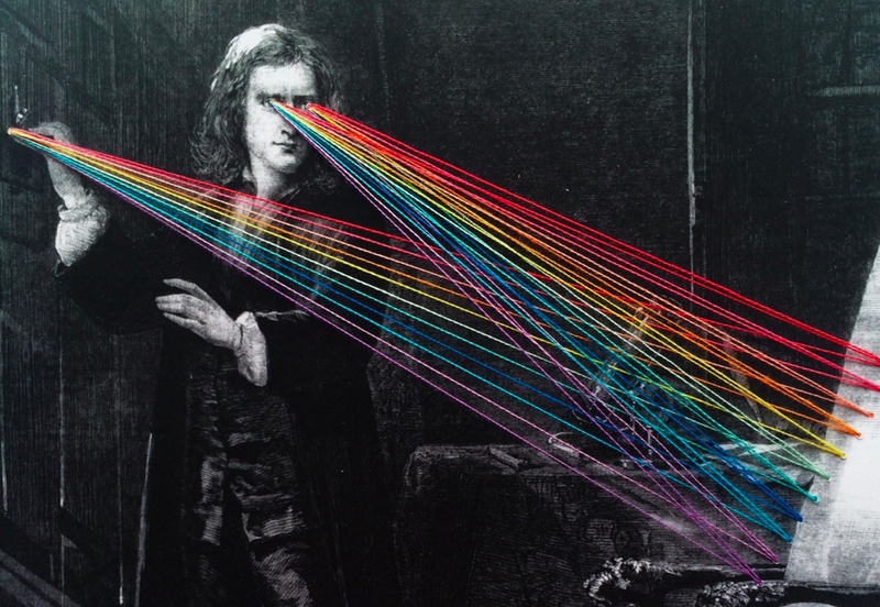 Illustration for article titled Isaac Newton's Rainbow Gaze, As Imagined By Mana Morimoto