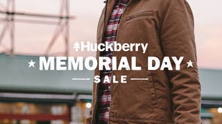 Illustration for article titled Huckberry's Memorial Day Sale: Up To 50% Off Boots, Slippers, Jackets, EDC, & More