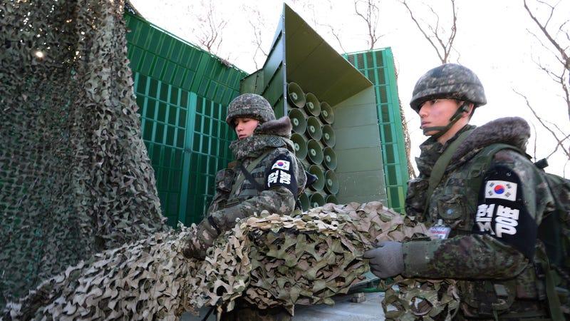 Illustration for article titled South Korea Stops Blaring High-Decibel K-Pop Propaganda at North Korea Border