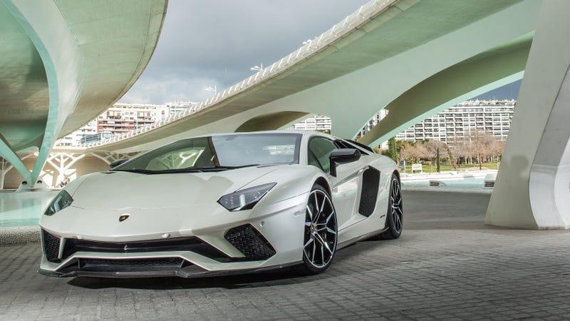 Pictured: Not the crimes Lamborghini