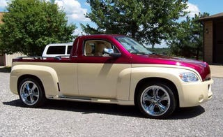 In Any Form Other Than The Chevy Hhr Ss Too Retro Small Station Wagon High Heritage Roofline Leaves A Strange Aftertaste