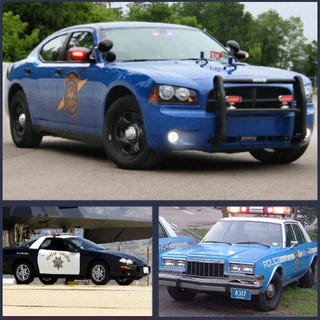 Ten Greatest American Police Patrol Cars