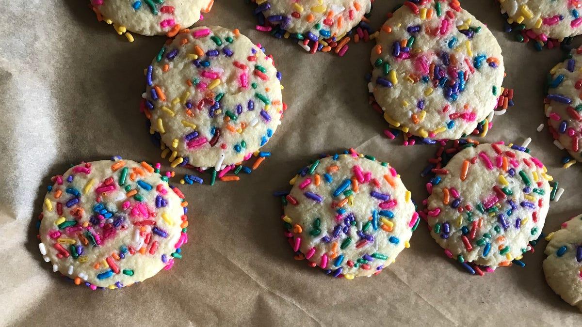 Last Call: Baking the sprinkle cookies of my childhood