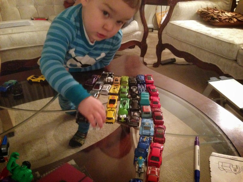 Illustration for article titled Hour Rule: Throwback To That One Time My Then-Five Year Old Color Coded His Cars