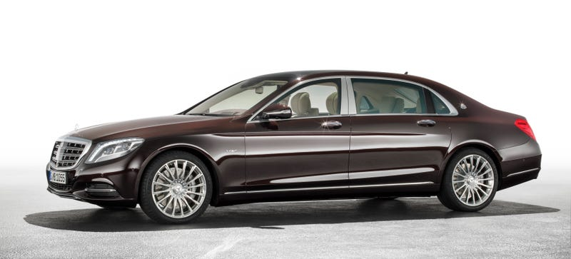 Illustration for article titled The Mercedes-Maybach S600 Will Start At A Luxuriant $189,350