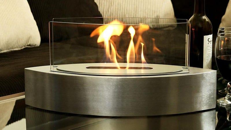 Sunnydaze Barco Tabletop Fireplace | $132 | Amazon
