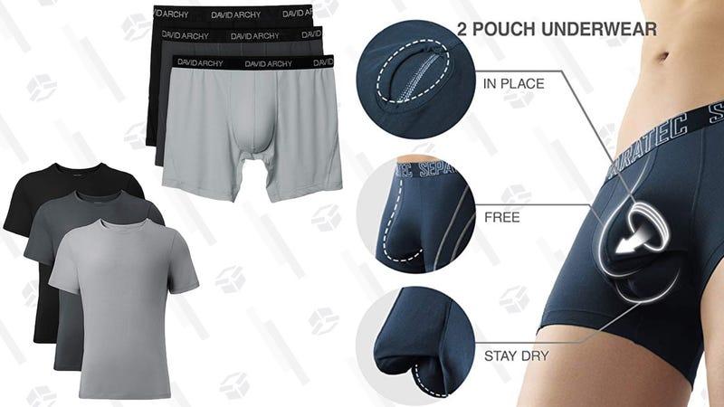David Archy Prime Day Underwear and Undershirt Sale | Amazon