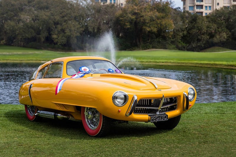 Illustration for article titled This Pegaso is the most beautiful car from 1952