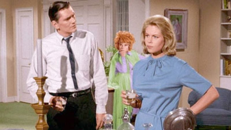 Illustration for article titled Producers of film mocking the idea of remaking Bewitched now actually remaking Bewitched
